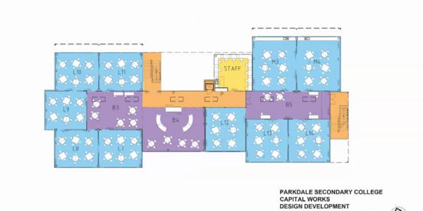 New Junior Learning Centre First Floor Plan